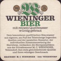 Beer coaster m-c-wieninger-27-small