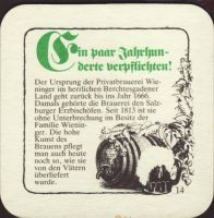 Beer coaster m-c-wieninger-31-zadek-small