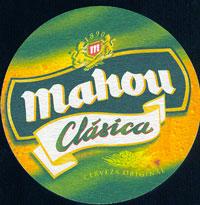 Pivní tácek mahou-2-oboje