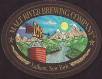 Beer coaster malt-river-brewing-1-small