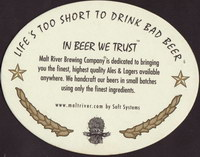 Beer coaster malt-river-brewing-1-zadek-small