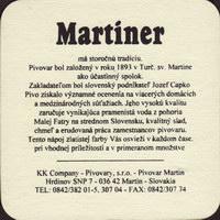 Pivní tácek martiner-12-zadek