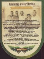 Pivní tácek martins-13-small