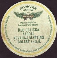Pivní tácek martins-17-zadek-small