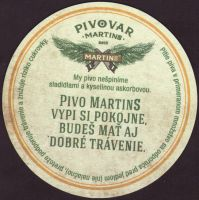 Pivní tácek martins-19-zadek-small