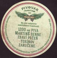 Pivní tácek martins-21-zadek-small