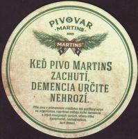 Pivní tácek martins-25-zadek-small