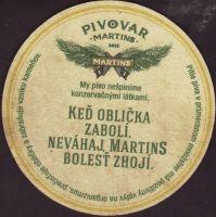 Pivní tácek martins-29-zadek-small
