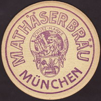 Beer coaster mathaserbrau-1
