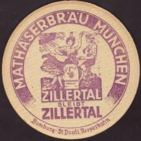 Beer coaster mathaserbrau-1-zadek