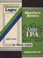 Pivní tácek matthew-brown-1