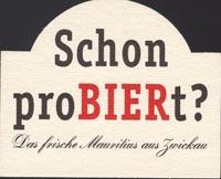 Pivní tácek mauritius-brauerei-zwickau-1-zadek