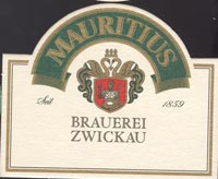 Pivní tácek mauritius-brauerei-zwickau-1