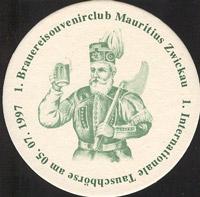Pivní tácek mauritius-brauerei-zwickau-4-zadek