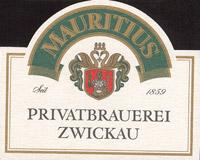 Pivní tácek mauritius-brauerei-zwickau-5