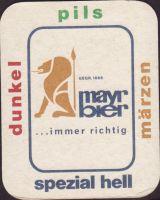Beer coaster mayr-8-small