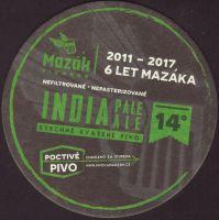 Pivní tácek mazak-21-zadek-small