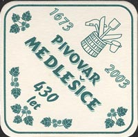 Beer coaster medlesice-1