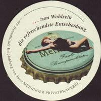 Pivní tácek meininger-privatbrauerei-3-zadek-small