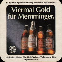 Beer Coaster Coaster Number 11 1 Brewery Memminger City