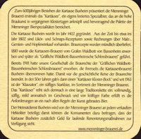 Pivní tácek memminger-17-zadek-small