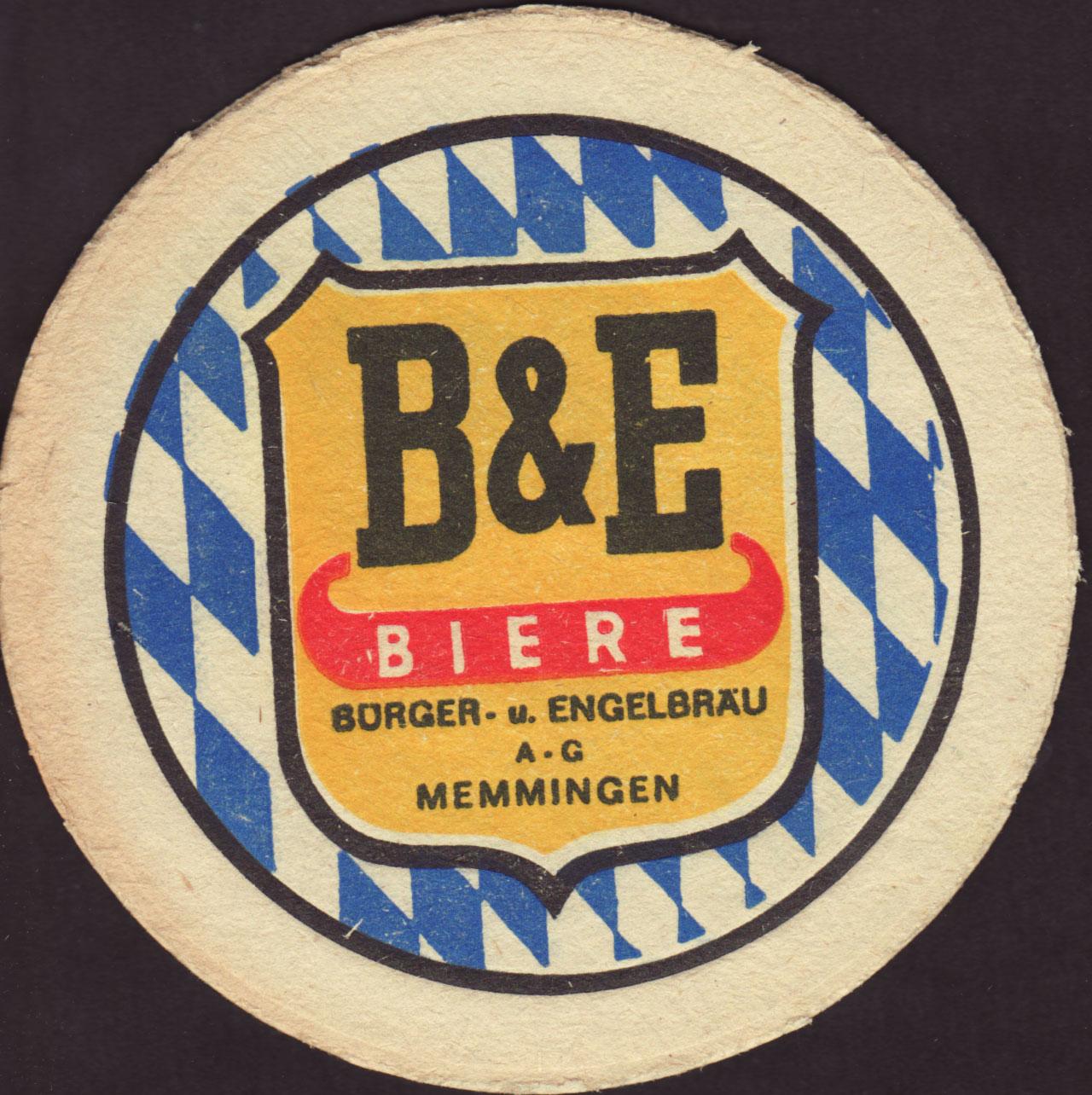 Beer Coaster Coaster Number 2 1 Brewery Memminger City