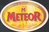 Pivní tácek meteor-12