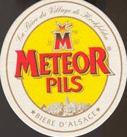 Pivní tácek meteor-3