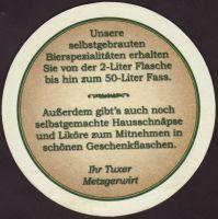 Beer coaster metzger-brau-1-zadek-small