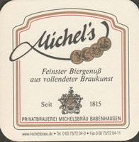 Pivní tácek michelsbrau-3-zadek