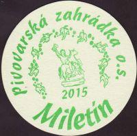 Pivní tácek miletin-7