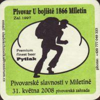 Pivní tácek miletin-9-small