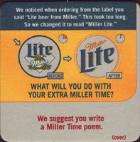 Beer coaster miller-108-small