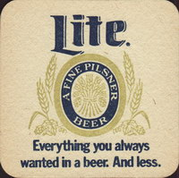 Beer coaster miller-115-small