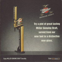 Beer coaster miller-150-small