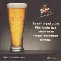 Pivní tácek miller-151-zadek-small