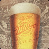 Beer coaster miller-155-small