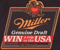 Beer coaster miller-164-small