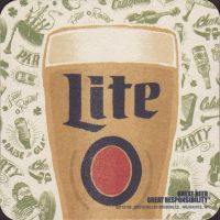 Beer coaster miller-197-small