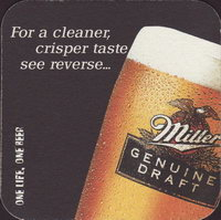 Beer coaster miller-27-small