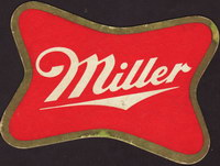 Beer coaster miller-45-small