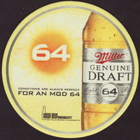 Beer coaster miller-65-small