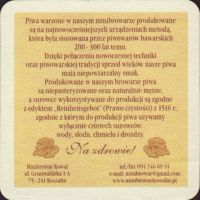 Beer coaster minibrowar-kowal-2-zadek-small