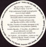 Pivní tácek minipivovar-konicek-3-zadek-small