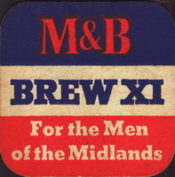 Beer coaster mitchell-butlers-5-oboje