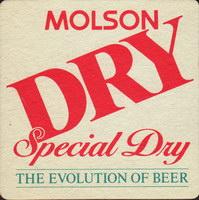 Beer coaster molson-100-oboje