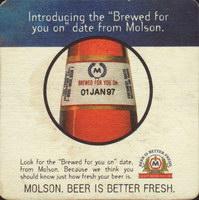 Beer coaster molson-103-zadek-small