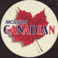 Beer coaster molson-106