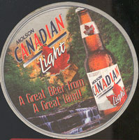 Beer coaster molson-11
