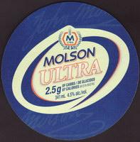Pivní tácek molson-116